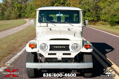 1977 Toyota Land Cruiser FJ-40 Land Cruiser 4x4 1977 Toyota FJ-40 Land Cruiser 4x4