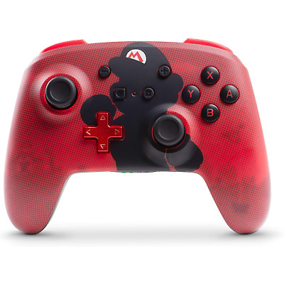 PowerA Nintendo Switch Wireless Super Mario Controller - Red