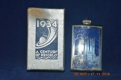 1934 Match King Century of Progress with instructions and original box