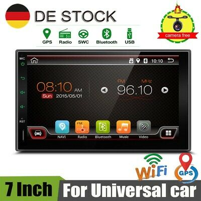 Kamera+Bluetooth 2 Din ANDROID 8.1 AUTORADIO NAVIGATION GPS Mirror Link DVR OBD
