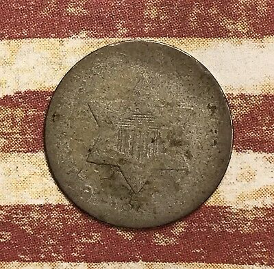1851 THREE CENT SILVER. COLLECTOR COIN FOR COLLECTION Or Set.2