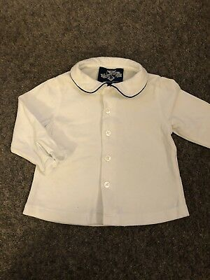 Thomas Brown Collared Top From Trotters 3-6 Months-Traditional-Spanish