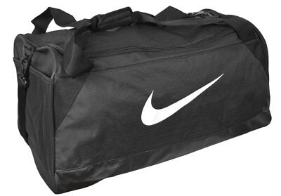 NEW NIKE- BRASILIA Medium Duffel Bag Black White -  24.99  1a74335f458f7
