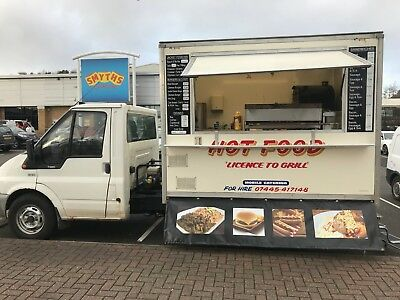 ac34ef5456 BURGER VAN CATERING Trailer Snack Van Mobile Food - £8