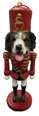 Bernese Mountain Dog  Nutcracker Soldier Ornament