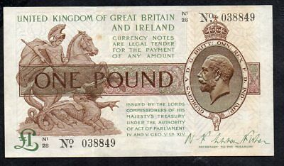 1 Pound From England VF