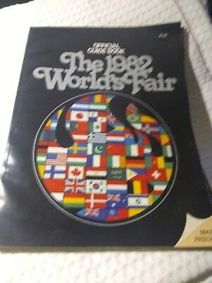 World's Fair 1982 Official Guide Book w/ Map of this Knoxville Event