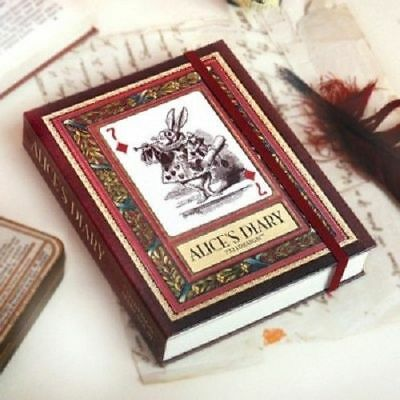 Alice in Wonderland Diary Vol.1 Planner Journal Schedule Book Notebook Korean_NK