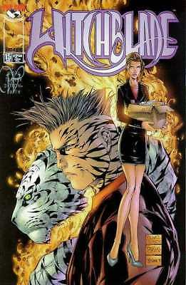 Witchblade (1995 series) #15 in Near Mint minus condition. Image comics [*xp]