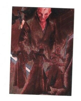 Snoke 2018 Topps Star Wars Galaxy ETCHED FOIL PUZZLE Card #5