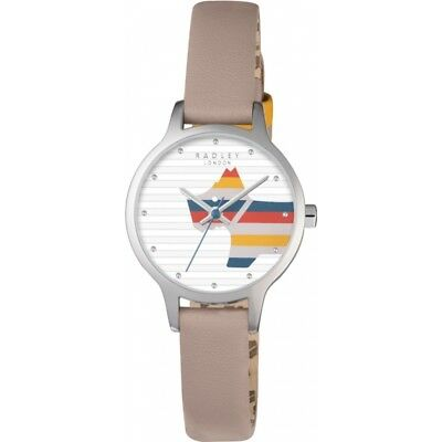 Radley Ladies Willow Cobweb Leather Strap Watch RRP £75.BRAND NEW AND BOXED