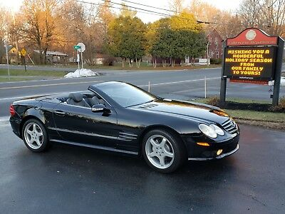 2003 Mercedes-Benz SL-Class Sport AMG 2003 Mercedes SL500 Sport AMG Panoramic Roof Convertible SL SPOTLESS LOADED
