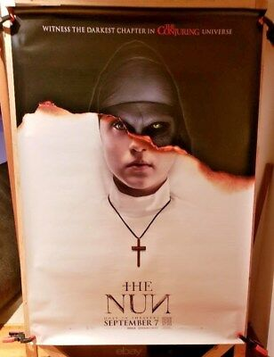 The Nun (2018) IMAX 4 x 6 Bus Shelter Poster Conjuring Universe