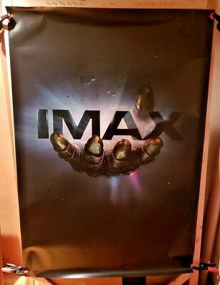Avengers Infinity Wars Hand of Thanos (2018) IMAX 4 x 6 Bus Shelter Poster