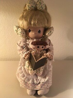 """Precious Moments """"Tell Me The Story Of Jesus"""" Collector Doll"""