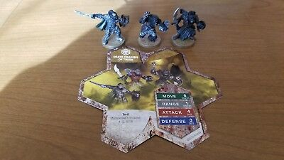 Death Chasers of Thesk - Heroscape Squad&Card - Moltenclaw's Invasion - 4,5,6/18