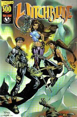 Witchblade (1995 series) Wizard #500 in Near Mint condition. Image comics [*um]