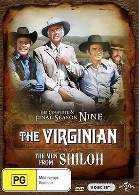 The Virginian -  (DVD, 2017, 9-Disc Set) The Complete & Final Season 9