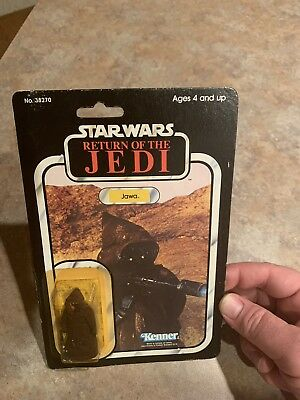Star Wars Vintage ROTJ Jawa MOC 77-Back (1983) PLEASE READ