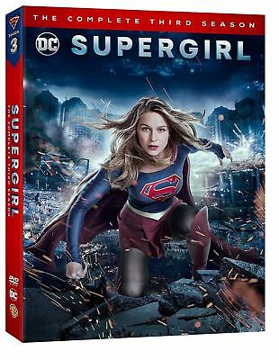 Supergirl Season 3 DVD 2018 New   Fast & Free Same Day Dispatch  UK SELLER