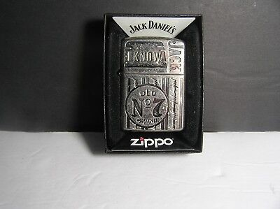 Zippo Lighter Jack Daniels I Know Old No. 7 Made in 2008 - New Sealed !!!