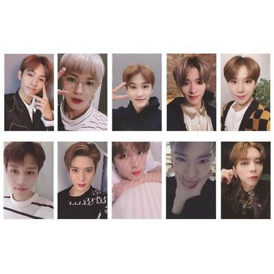 10 Pcs/Set KPOP NCT127 Album Regulate Lomo Card Self Made Photocard