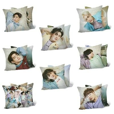 GOT7 Formal Third Album Present:YOU Back Cushion Cover Double-sided Pillow Cover