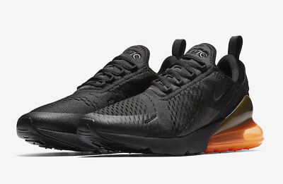 Nike Air Max 270 Tonal Orange Size 11 Black Total Orange AH8050 008