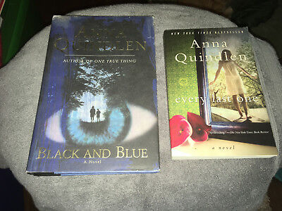 Quindlen, Anna Every Last One: Black and blue TWO LOT special  2 LOT