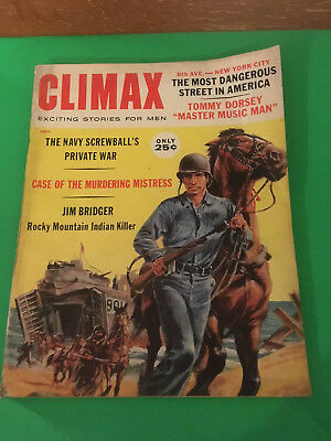 Climax Magazine Mens magazine  Sept 1960 September gift ready Born 1960?