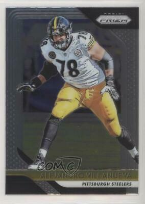 5cc98b050 2018 Panini Prizm  37 Alejandro Villanueva Pittsburgh Steelers Football Card