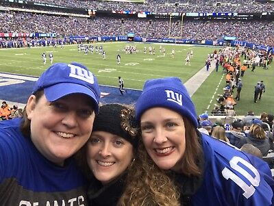 Giants Vs Titans sunday 12/16 Lower Level 3 Tickets And Parking