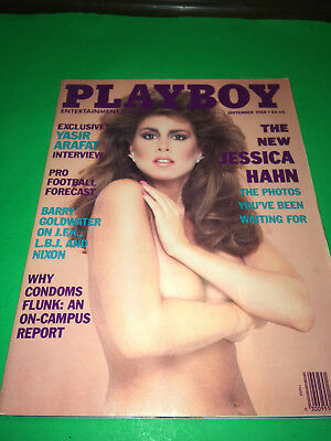 Born in 1988 ? PLAYBOY MAGAZINE - JESSICA HAHN - SEPT. gift ready mint center F