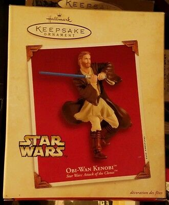 2002 Hallmark Keepsake Ornament Star Wars OBI-WAN KENOBI