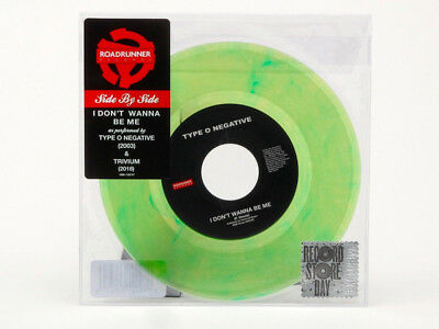 "Trivium / Type O Negative I Dont Wanna Be Me RSD BF GREEN 7"" vinyl NEW/SEALED"