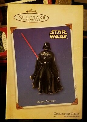 Star Wars Hallmark Ornament 2002 Darth Vader NIB