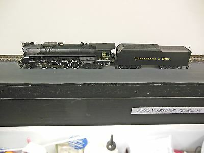 N Scale BACHMANN BERKSHIRE STM LOCO C&O rr with DCC and SOUND. KN.CPLS GR COND.