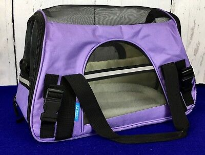 "Pet Carrier, Oxgord, 17"" X 8"" X11"" Airline-Approved, Soft-Side Travel Tote Bag,"