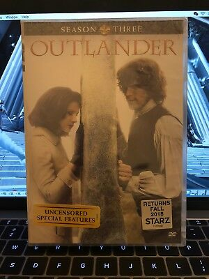 Outlander Season 3 (DVD, 2018, 5-Disc Set) Brand New Free Shipping