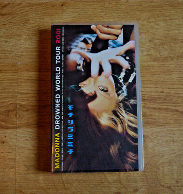 Madonna, Drowned World Tour 2001, VHS, SEALED, PAL,