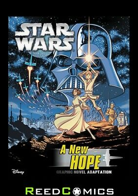 STAR WARS A NEW HOPE GRAPHIC NOVEL (72 Pages) New Paperback by IDW Publishing