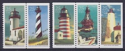 USA Mi Nr. 2085 - 2089 **, Leuchtturm, Lighthouse, postfrisch, MNH