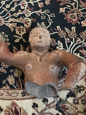 Ancient Mayan Artifact (Museum quality peace) Extremely Rare Sculpture