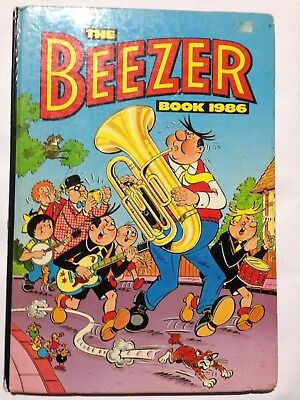 THE BEEZER BOOK 1986. Good Condition **Free UK Postage**