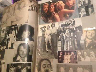 ABBA Scrapbook Full of pics, cuttings posters etc No 1 of 3 Fantastic collection