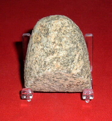 Choice Little Sahara Neolithic Celt With Stand, Prehistoric African Artifact