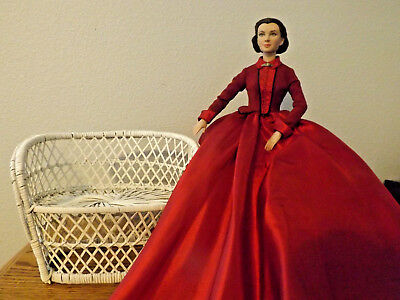 "16"" Scarlett O'Hara doll ""SCARLETT"" Gone With The Wind Tonner Doll with Settee"