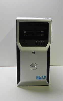 DELL PRECISION T1600 QUAD Xeon E3-1280 3.5GHZ 500GB HDD 8GB 1GB GDDR5 Windows10