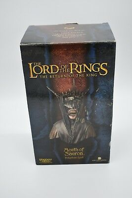 Sideshow Weta Lord Of The Rings The Mouth Of Sauron Polystone Bust LOTR 54/4000