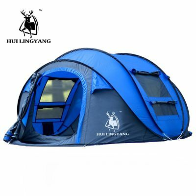 Large throw tent outdoor 3-4persons automatic speed open throwing pop up